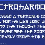 日本人だけ読めないフォント「Electroharmonix」の作者は名古屋在住の方でした!