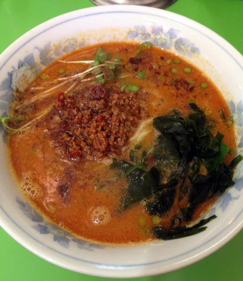 名古屋市西区_万楽_担々麺
