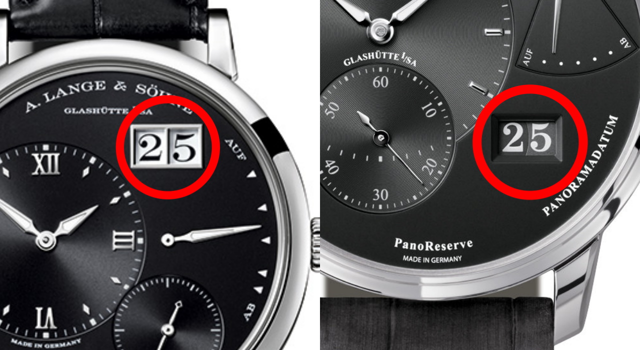 【WEBデザイン】パノリザーブとランゲ1時計の文字盤から読み取る意識差について